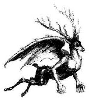 Furfur - Image of Furfur from Collin de Plancy's Dictionnaire Infernal.