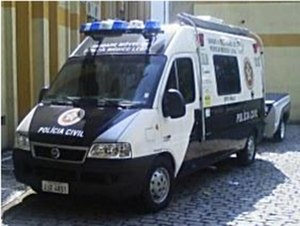 Civil Police of Rio de Janeiro State - Mobile forensic unit