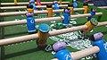 Futbol de mesa artesanal del Cruz Azul vs. América 04.jpg