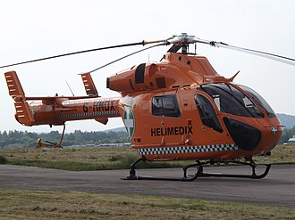 East of England Ambulance Service - Magpas Air Ambulance is based at RAF Wyton.