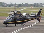 G-TELY Agusta A109 Helicopter Castle Air Ltd (29545538170).jpg