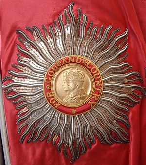 Percy Noble (Royal Navy officer) - GBE breast star