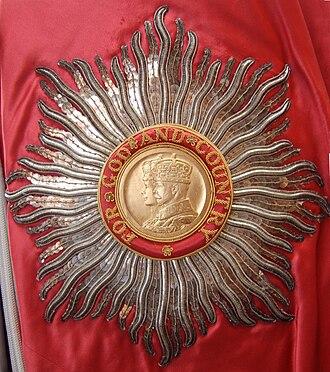 Harold Yarrow - GBE insignia