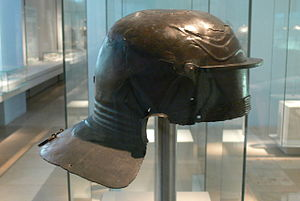 Legio I Adiutrix - Helmet of Lucius Lucretius Celer, Soldier in the centuria of Gaius Mummius Lolianus of the Legio I Adiutrix