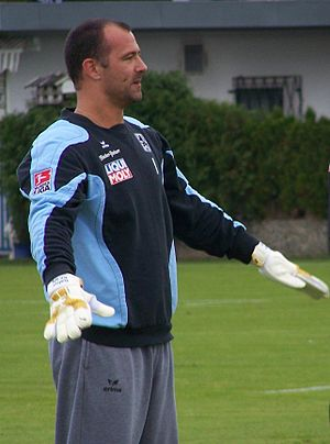 Gabor Kiraly, 1860 munich, training