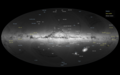 Gaia's first sky map, annotated ESA365176.png