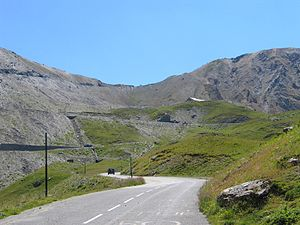 Col du Galibier - Col du Galibier (North view)