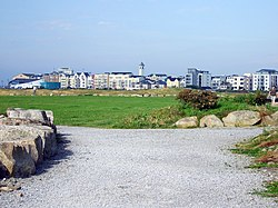 Salthill from Celia Griffin Park
