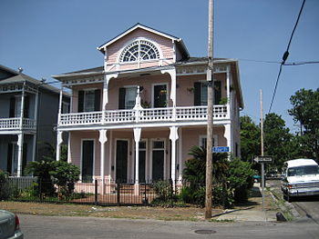 House, Garden District of New Orleans