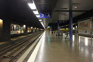 Geneva Airport - Geneva Airport railway station.