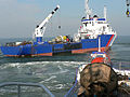 Gascogne buoy tender in sea trials 5.jpg