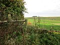 Gate into a grass field (geograph 5526594).jpg