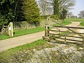 Gated Road, Foscote - geograph.org.uk - 386022.jpg