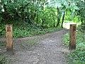 Gateway into Loynton Moss nature reserve - geograph.org.uk - 240540.jpg