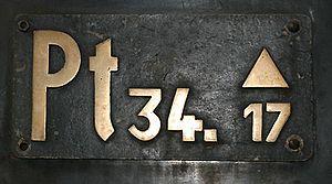 DRG locomotive types - Image: Gattungs Zeichen Dampflok BR74