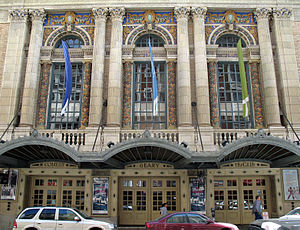American Conservatory Theater - Close-up of the Geary Theater facade