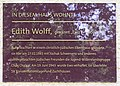 Gedenktafel Bundesallee 79 Edith Wolff.JPG