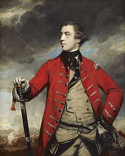 John Burgoyne British general and playwright, defeated in the 1777 Saratoga campaign