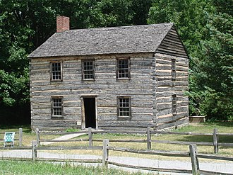 Genesee Country Village and Museum - Image: Genesee Country Village Cottage