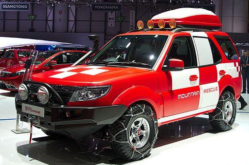 Geneva MotorShow 2013 - Tata Safari Storme