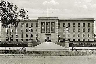 Gentofte Town Hall - The new Gentofte Town Hall in 1937