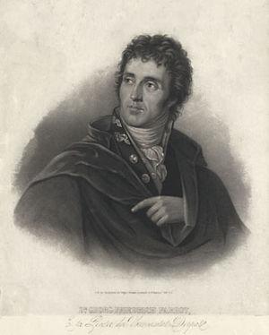 Georg Friedrich Parrot - Georg Friedrich Parrot. Portrait by Pavel Smirnov, Saint Petersburg.