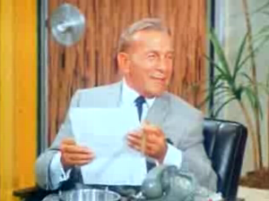 George Burns on The Lucy Show.