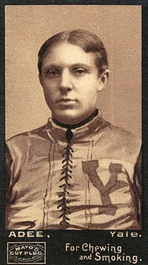 1894 College Football All-America Team - George Adee of Yale