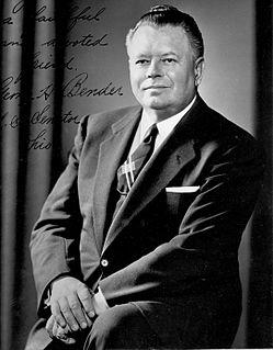 George H. Bender American politician