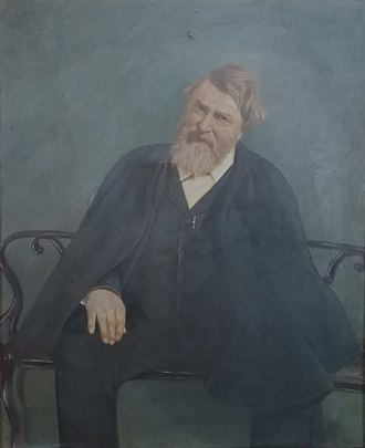 George A. Brandreth - George A. Brandreth Portrait (Oil on Canvas)