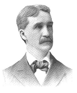 George C. Lorimer - Sketch of George C. Lorimer published in 1893.