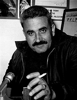 George Habash founder of the Popular Front for the Liberation of Palestine