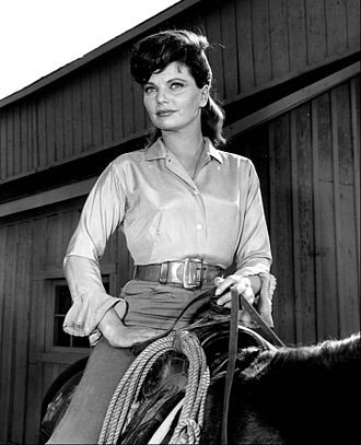 Geraldine Brooks (actress) - as a guest star on The Virginian, 1962
