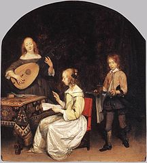 The Concert : Singer and Theorbo Player