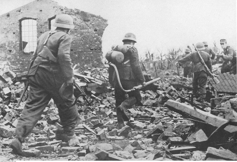 File:German pioneers near Aachen, 1944.jpg