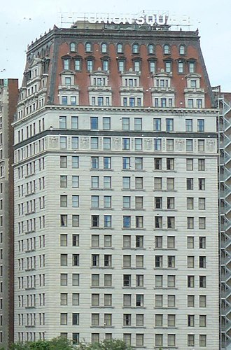 Mansard roof - Image: Germania Life Insurance Company Building