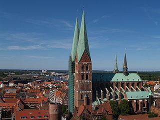 Church in Lübeck, Germany