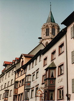 Main street in Rottweil