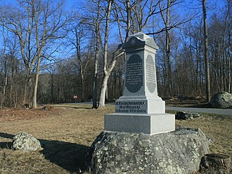 27th Indiana Infantry Regiment - Monument at Gettysburg