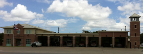 Fire department in Giddings, Texas