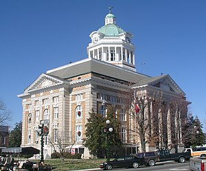 Giles County courthouse in Pulaski