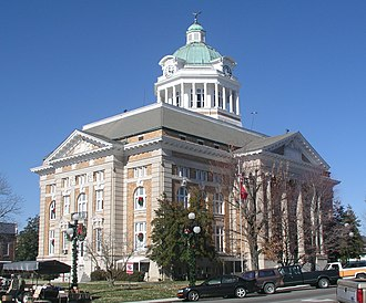 Giles County, Tennessee - Image: Giles County Tennessee Courthouse