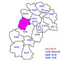 Gimcheon map-Daehang-myeon.png