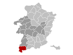 Gingelom Limburg Belgium Map.png