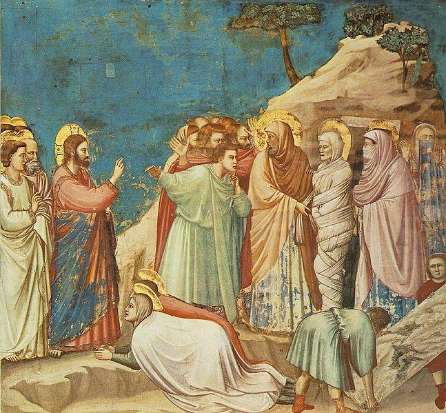 Immagine:Giotto - Scrovegni - -25- - Raising of Lazarus.jpg