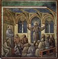 Giotto di Bondone - Legend of St Francis - 18. Apparition at Arles - WGA09143.jpg