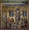Giotto di Bondone - Legend of St Francis - 18. Apparition at Arles - WGA09143.jpg
