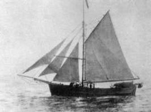 Gjøa - Gjøa, the first ship to sail through the Northwest Passage