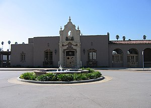 Glendale Transportation Center - The Glendale Transportation Center building