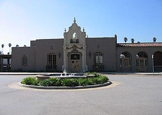 Glendale Transportation Center - The Glendale Transportation Center building